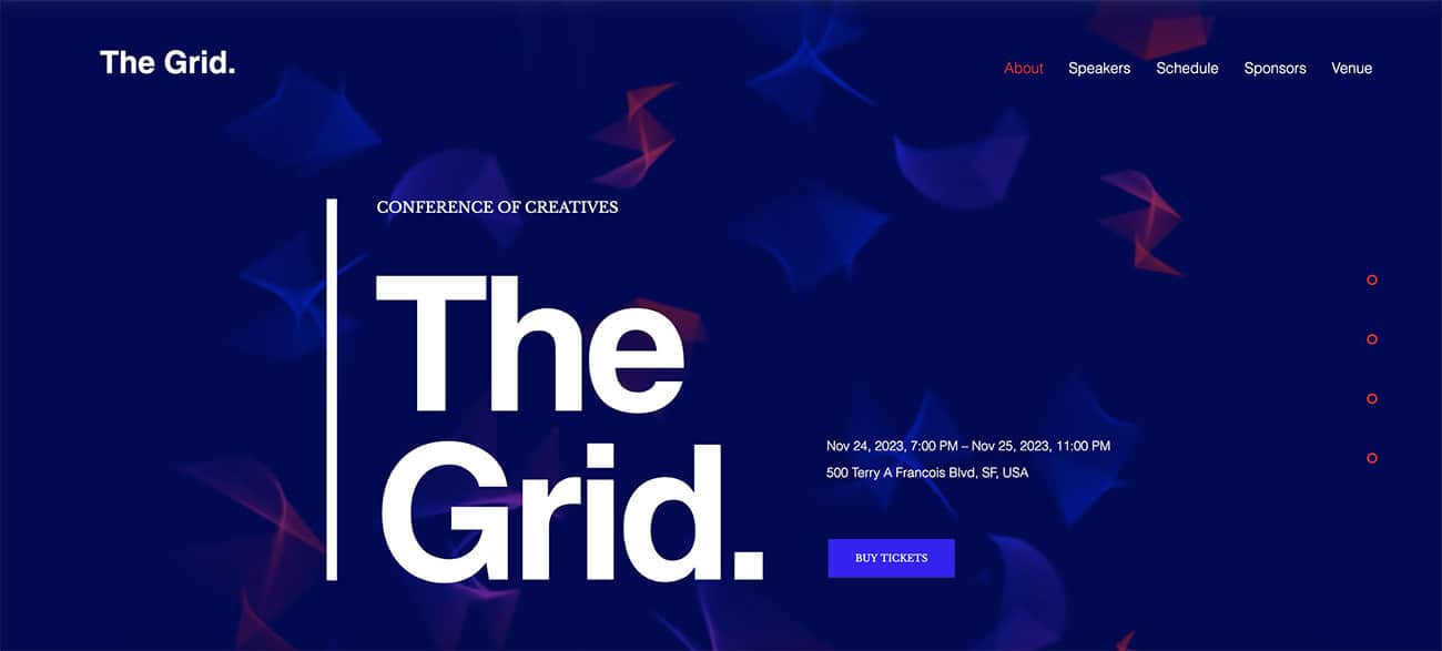 GRID website