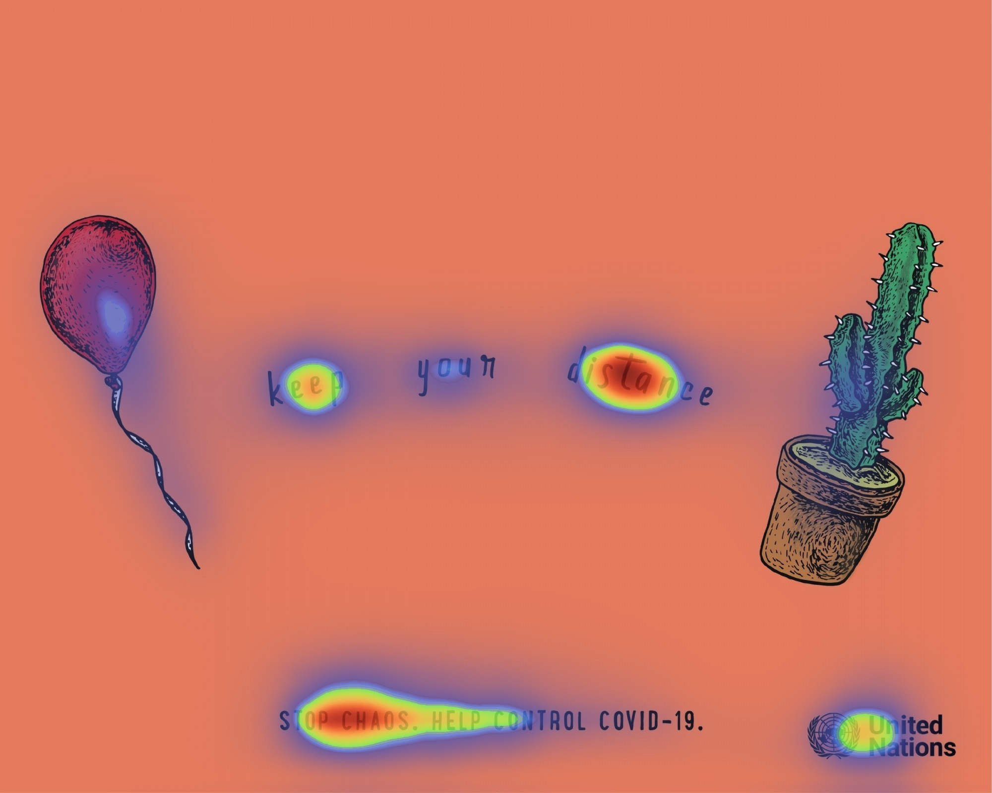 Heatmaps of the Best Covid-19 Ads