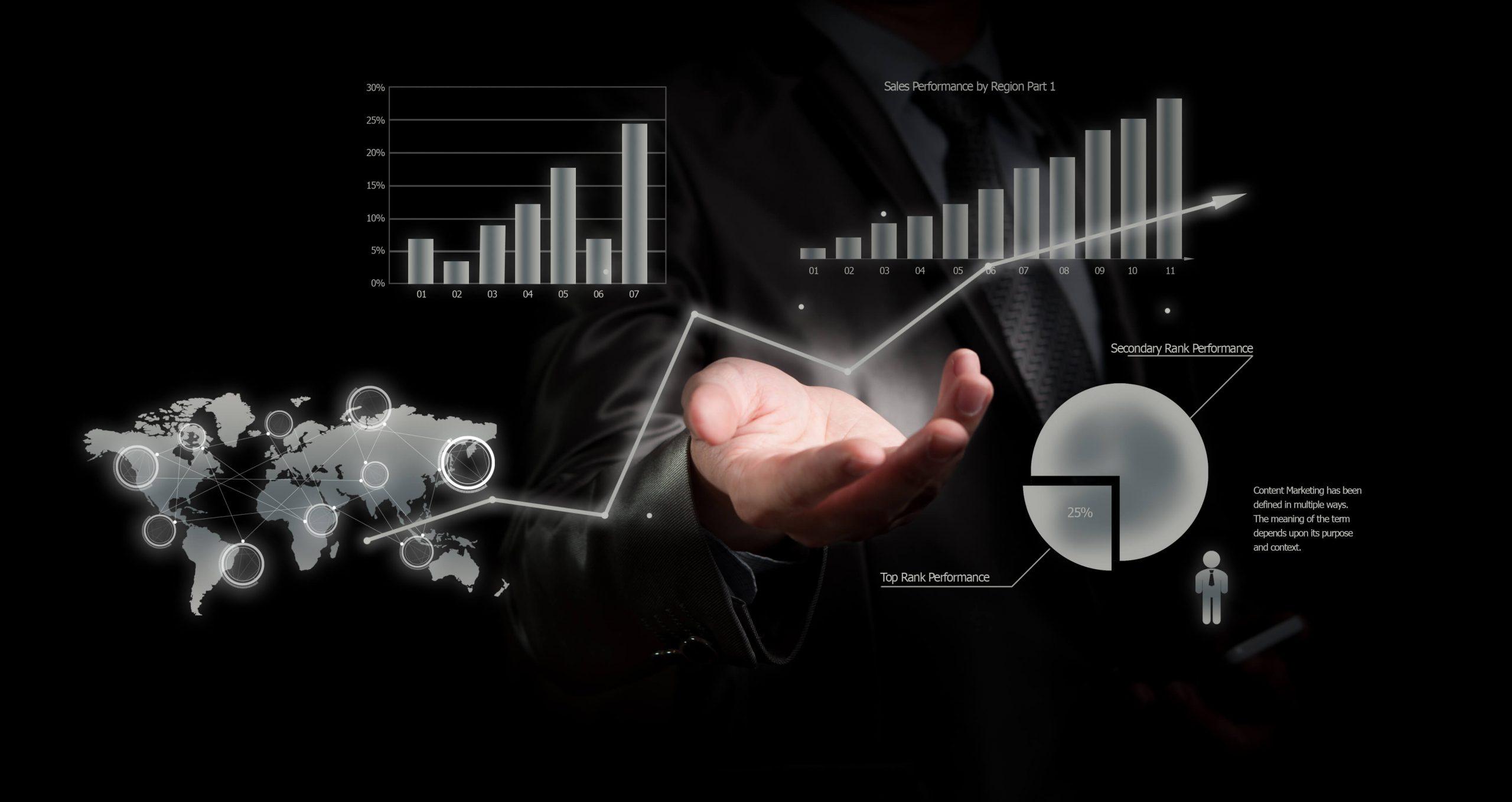Visualize data when presenting